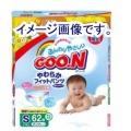 【数量限定】大王製紙 グーン やわらかフィットパンツ  S62枚 旧品        (010917109)