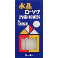日本香堂 水晶ローソク 3号 20本入り (1208-0512)