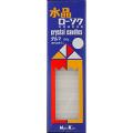 日本香堂 新水晶ローソク ダルマ 160g (1213-0403)