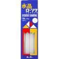 日本香堂 新水晶ローソク 7.5号 8本入り (1209-0202)