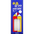 日本香堂 新水晶ローソク 15号 4本入り (1208-0505)
