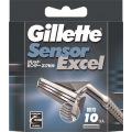 P&G ジレット センサーエクセル替刃 10個入 (0907-0304)