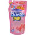 ロケット石鹸 おふろの洗剤 泡タイプ 咲きたてローズの香りつめかえ用 350ml  (0809-0204)