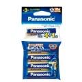 【数量限定】パナソニック エボルタ アルカリ乾電池 単3形 4本+1本 LR6EJSP/5H