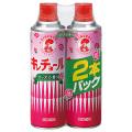 大日本除虫菊 キンチョールローズの香り450ml×2本パック