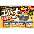 大日本除蟲菊 金鳥 コンバット スマート 1年用10個入