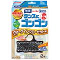 大日本徐虫菊 ゴンゴン ウォークインクローゼット用 2個入 無臭タイプ