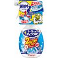 大日本除蟲菊 ティンクル トイレ用 直射泡 2wayスプレー フローラルの香り 本体 300ml (0905-0105)