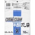 ケミカルジャパン 半透明 ポリ袋 30L 10枚 CC?30W (1725-0103)