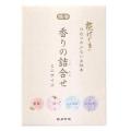 【数量限定】カメヤマ  花げしき香りの詰合せ ミニサイズ 25g×4個