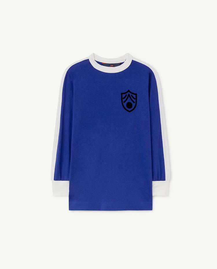 【THE ANIMALS OBSERVATORY】000998_053_NH Deep Blue Deer T-Shirt
