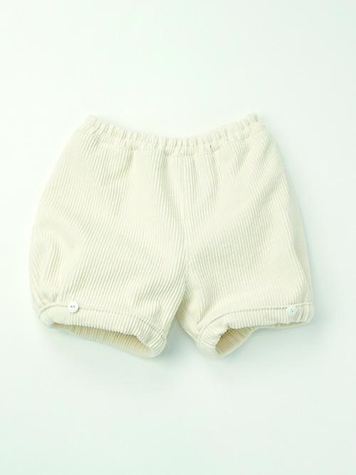 【mimi poupons】PB-070353-1 パフボトム コーデュロイ OW