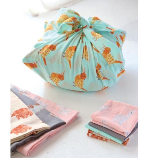 【松尾ミユキ】インド綿 Handkerchief