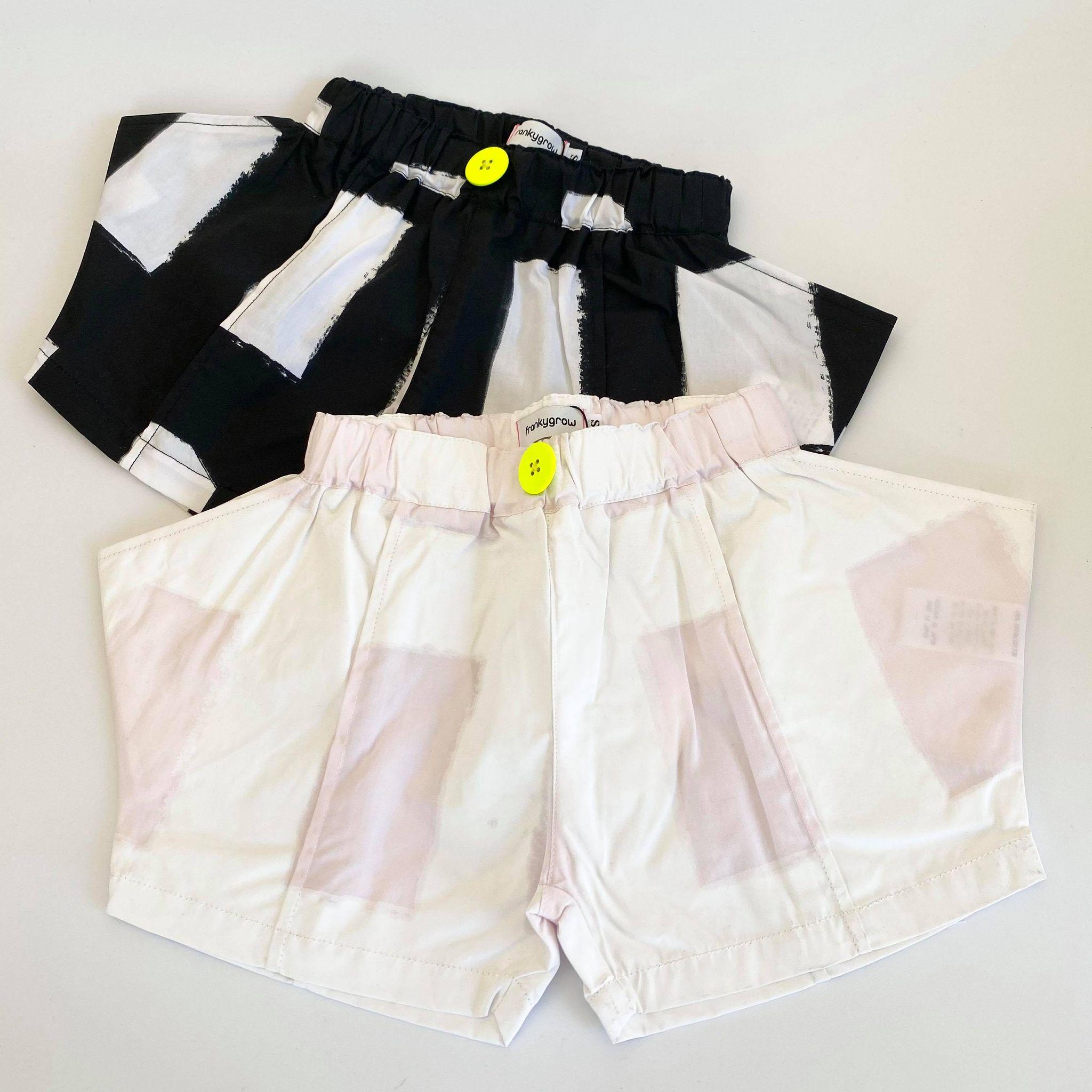 【frankygrow】21SBT-236 ORIG. CHECK RHOMBOS SHORT PANTS