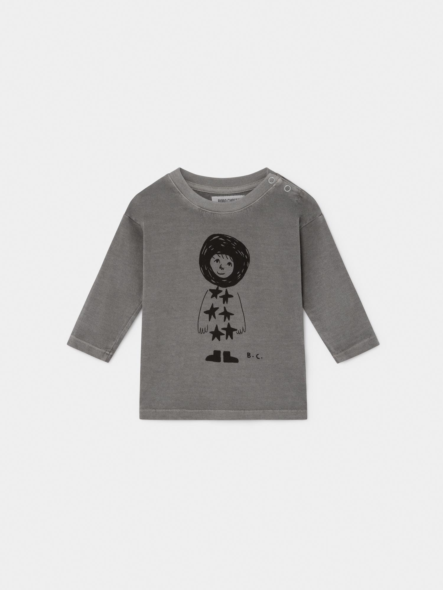 【BOBOCHOSES】219133 STARCHILD LONG SLEEVE T-SHIRT/baby