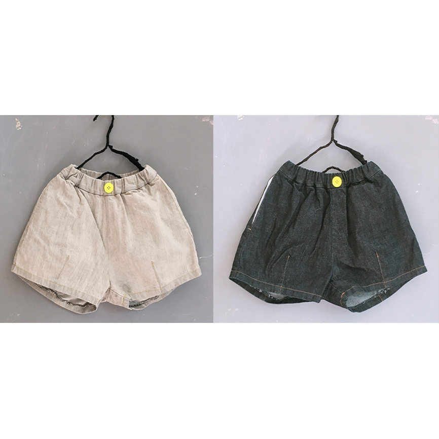 【frankygrow】21SBT-239 DENIM SHORT PANTS