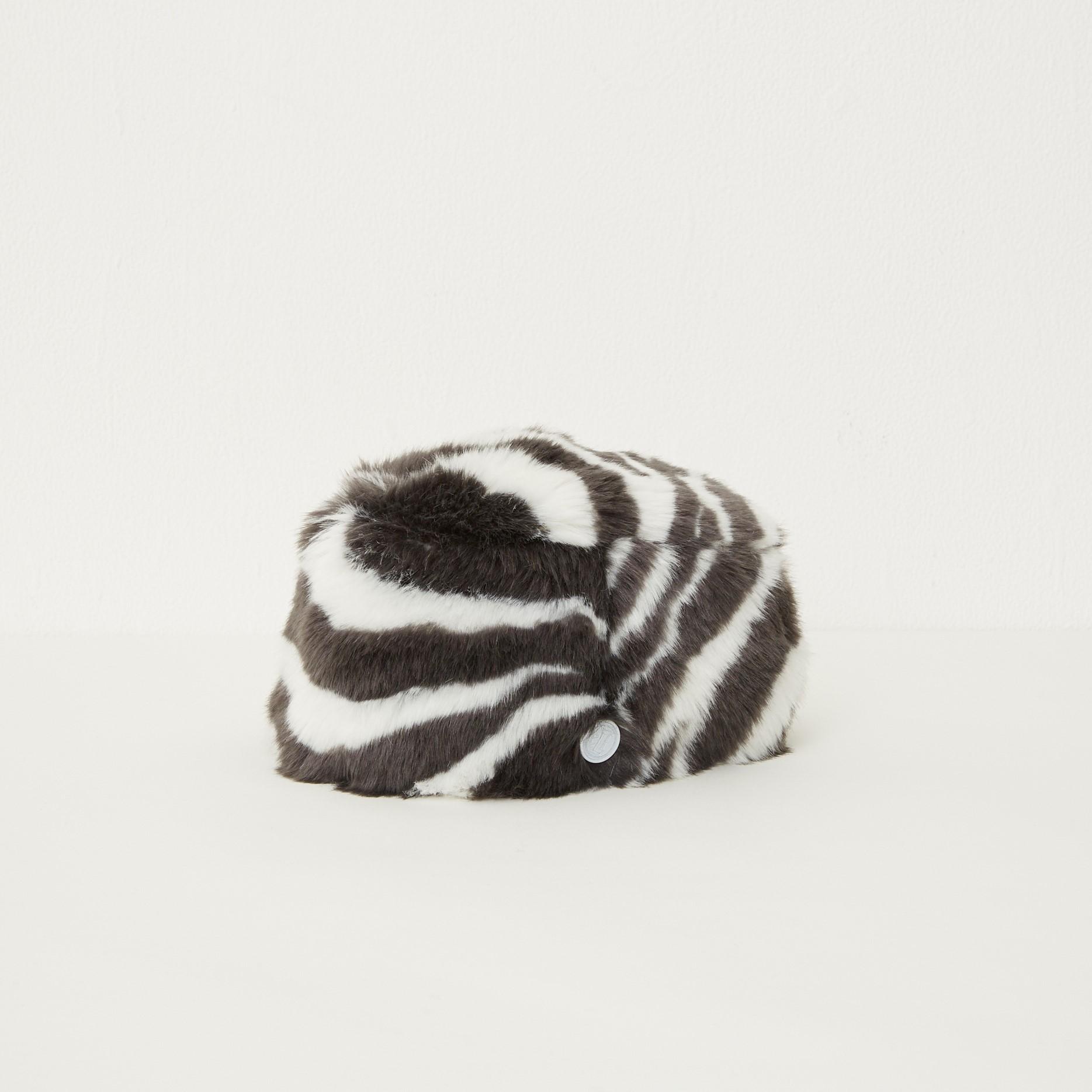【eLfinFolk】Zebra fur toque HAT  by CA4LA