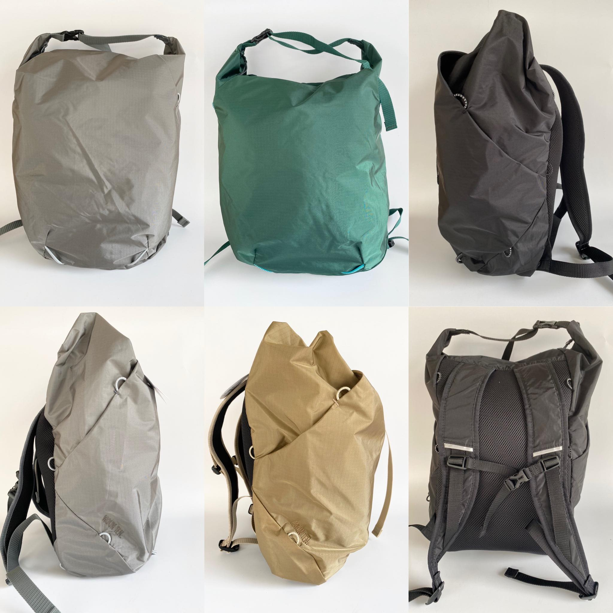 "【MOUNTEN.】MT192017 2way daypack""light"""