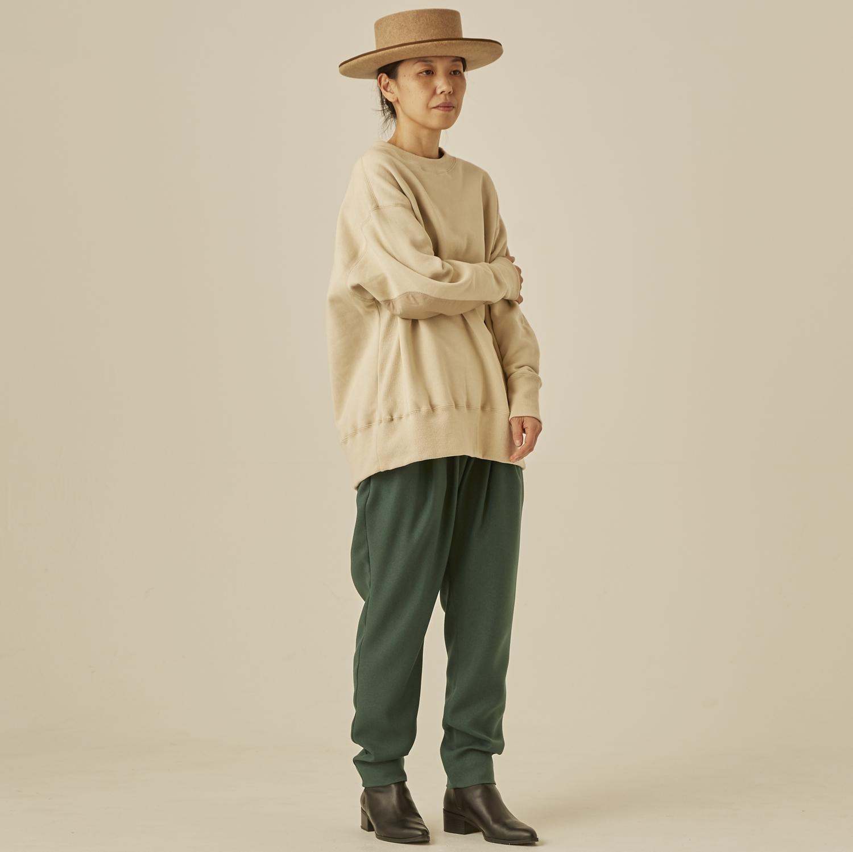 【eLfinFolk】elf-202J77 big sweat shirts