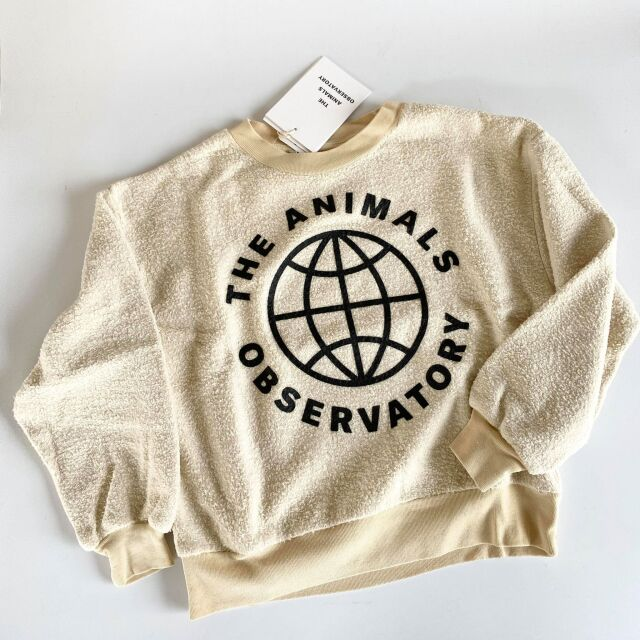【THE ANIMALS OBSERVATORY】001296 BEAR KIDS+ SWEATSHIRT