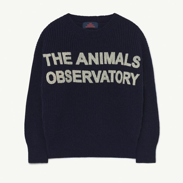 【THE ANIMALS OBSERVATORY】001389 TAO BULL KIDS+ SWEATER