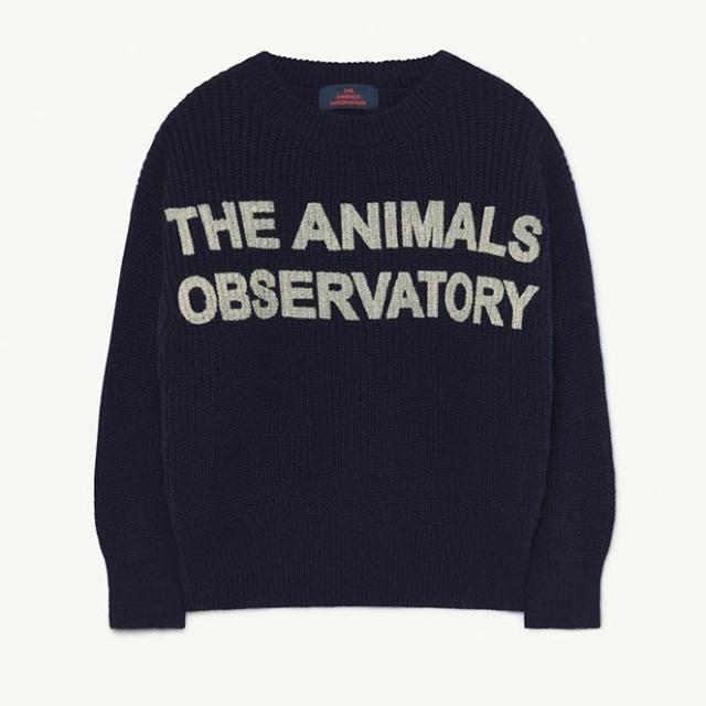 【THE ANIMALS OBSERVATORY】001389 TAO BULL KIDS+ SWEATER