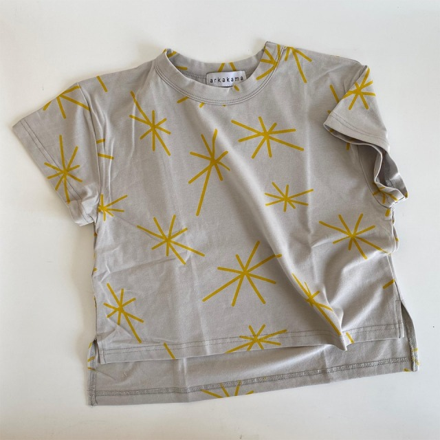 【arkakama】AKT00351-CS/COTTON SPDX WIDE Tee/STAR