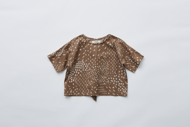 【eLfinFolk】QiLin T shirts brown