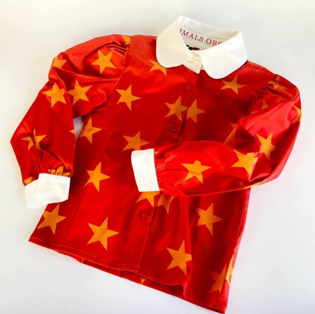 【THE ANIMALS OBSERVATORY】001351 CANARY KIDS SHIRT
