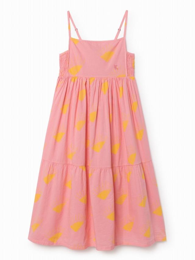 【BOBOCHOSES18ss】118085 Butterfly Princess Dress/pink