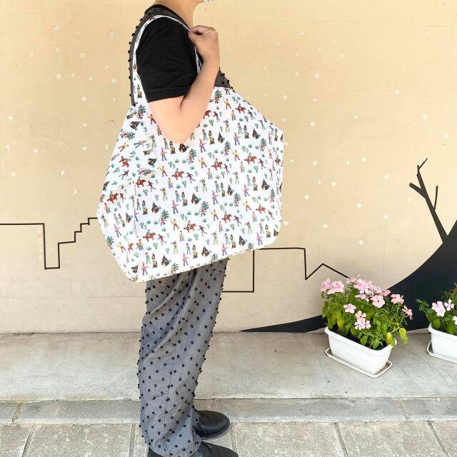 【Nathalie Late】Pocketable Eco Bag