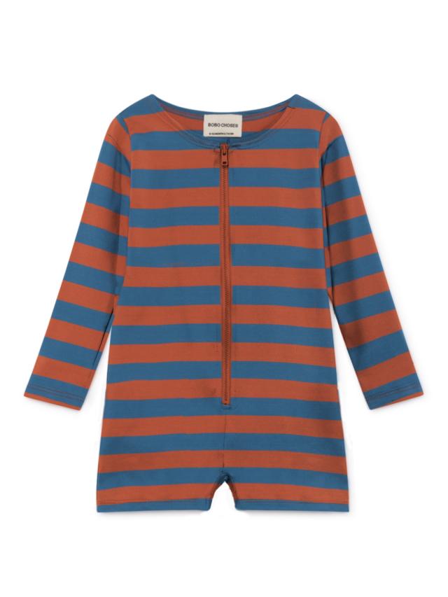 【BOBOCHOSES】119304 Stripes Swim Overall baby