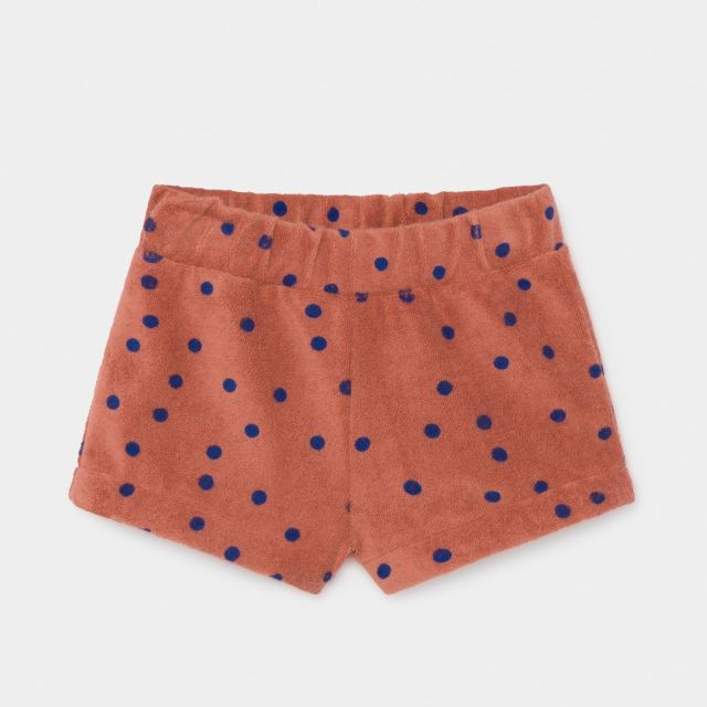 【BOBOCHOSES】12000053 Dots Terry Towel Shorts