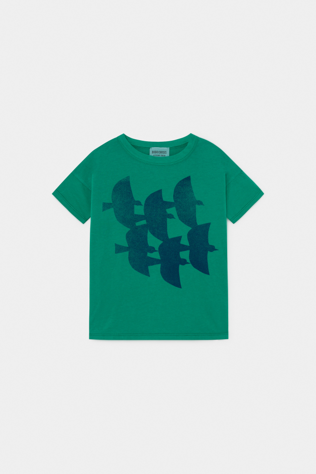 【BOBOCHOSES】12001003Flying Birds T-Shirt