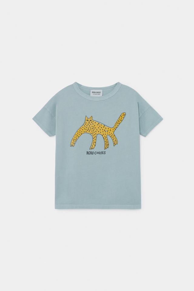 【BOBOCHOSES】12001006 Leopard T-Shirt