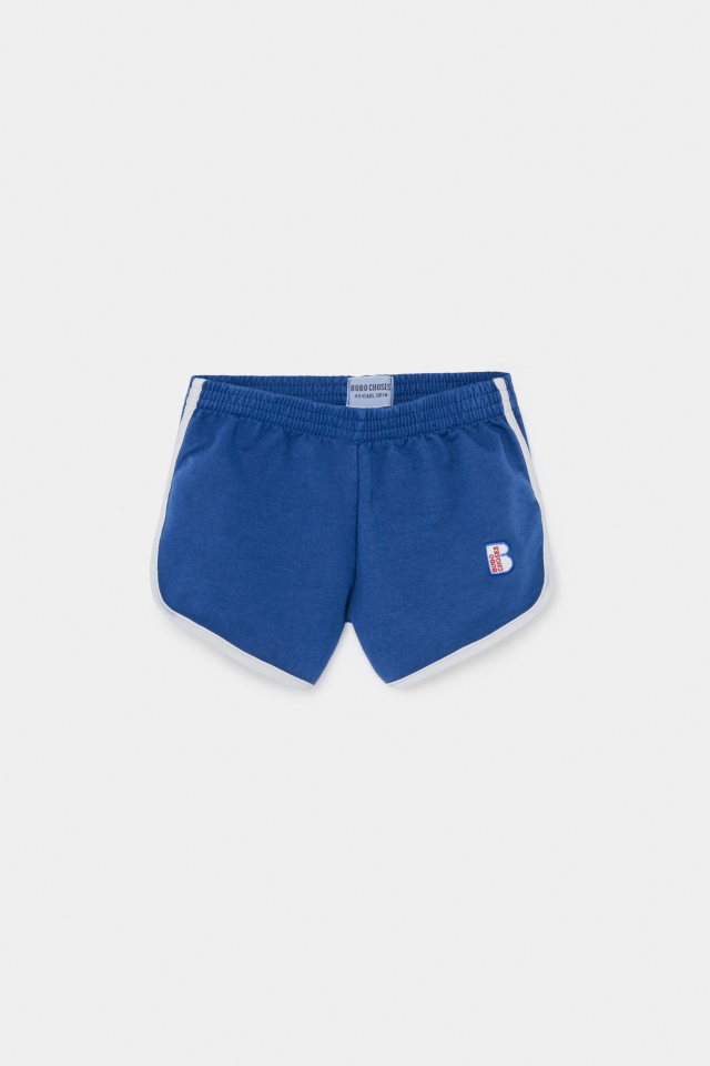 【BOBOCHOSES】12001068 Blue Runner Short