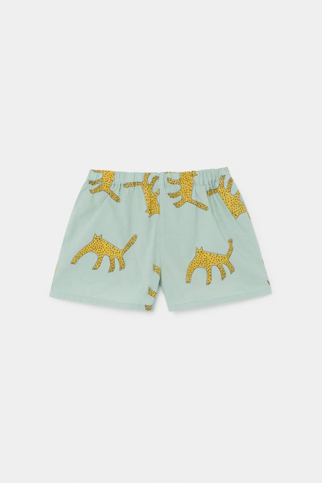 【BOBOCHOSES】12001072 Leopards Woven Shorts