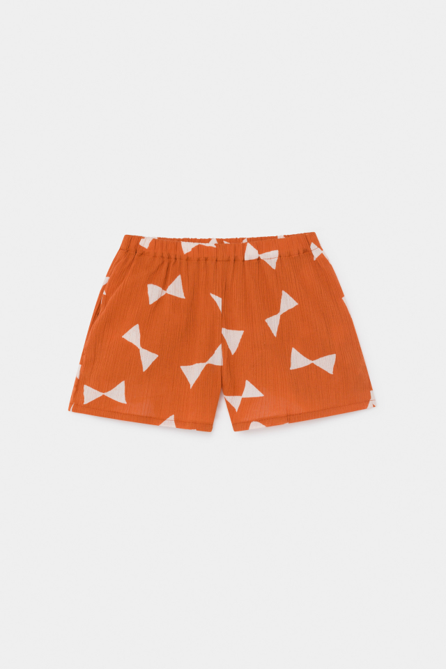 【BOBOCHOSES】12001074 All Over Bow Woven Shorts
