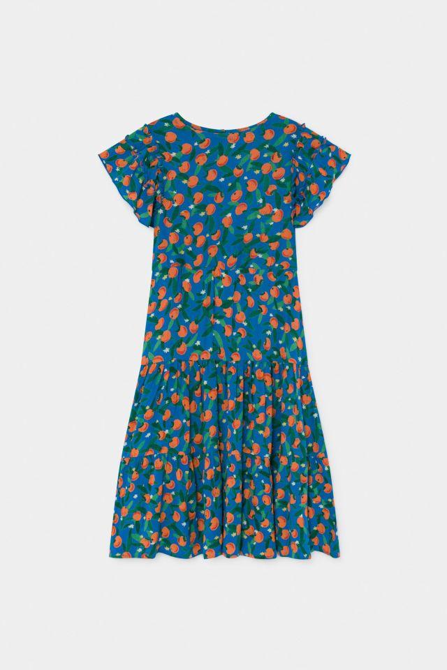 【BOBOCHOSES】12001123 All Over Oranges Flamenco Dress