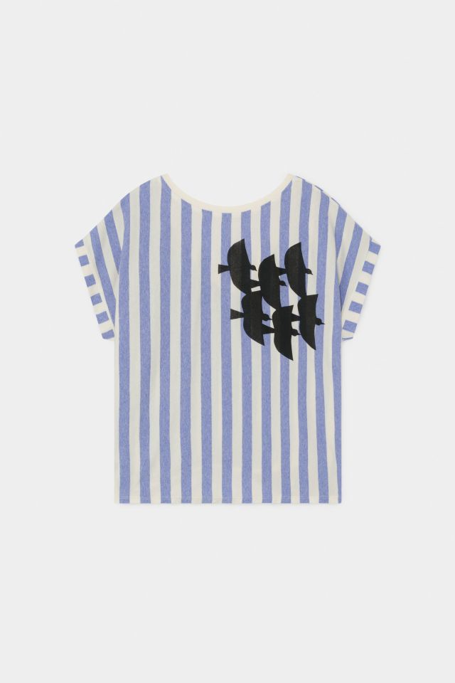 【BOBOCHOSES】12002006 FLYING BIRDS SHORT SLEEVE T-SHIRT