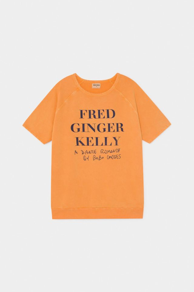 【BOBOCHOSES】12003005 FRED, GINGER & KELLY T-SHIRT