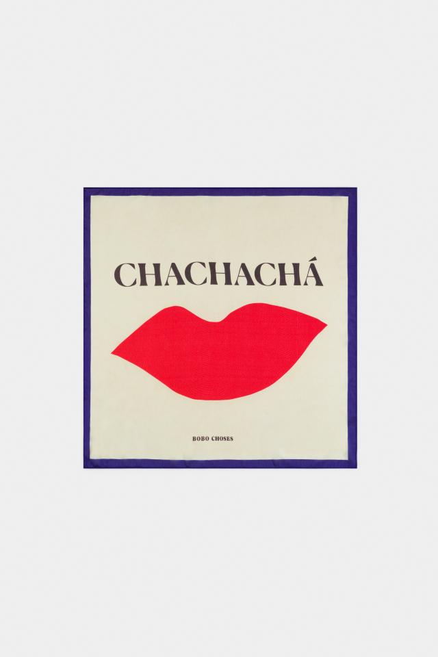 【BOBOCHOSES】12011033 Chachacha Kiss Square Scarf