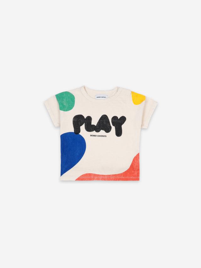 【BOBOCHOSES】121AB002 Play Landscape Short Sleeve T-shirt