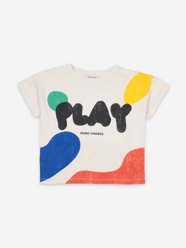 【BOBOCHOSES】121AC008 Play Landscape Short Sleeve T-Shirt