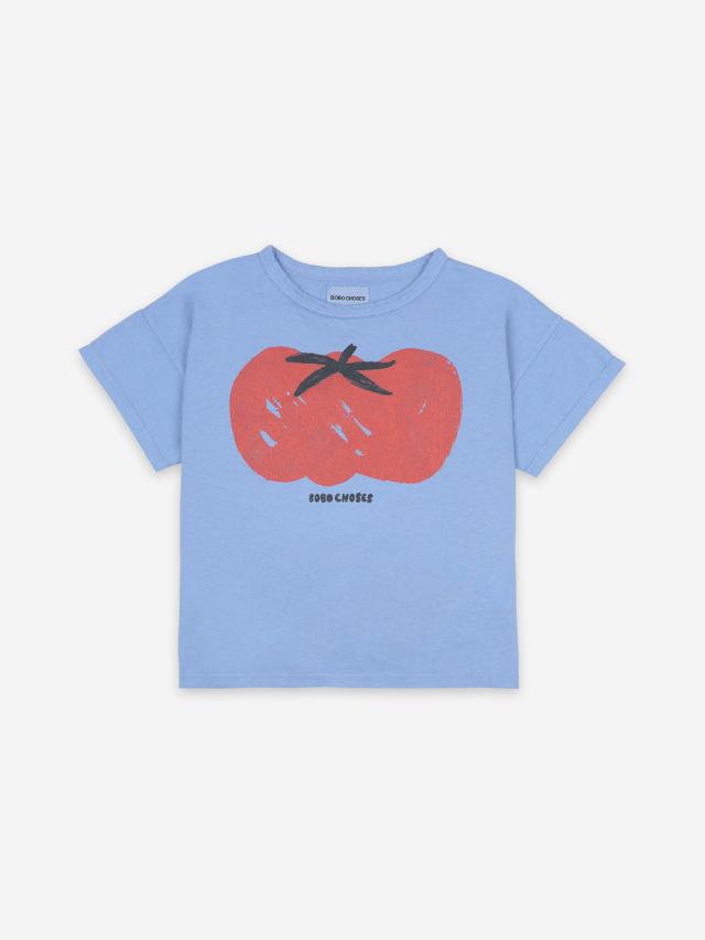 【BOBOCHOSES】121AC012 Tomato Short Sleeve T-Shirt