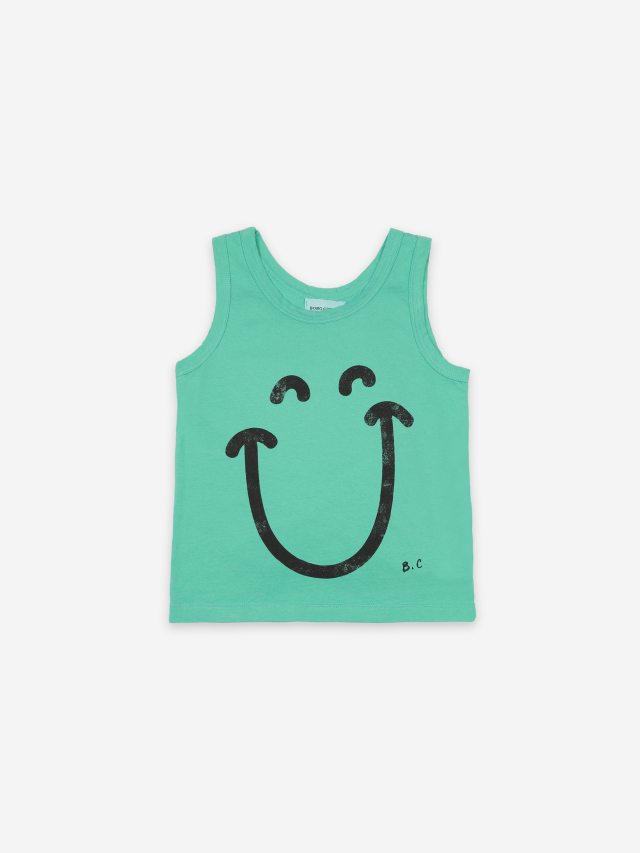 【BOBOCHOSES】121AC013 Big Smile Tank Top