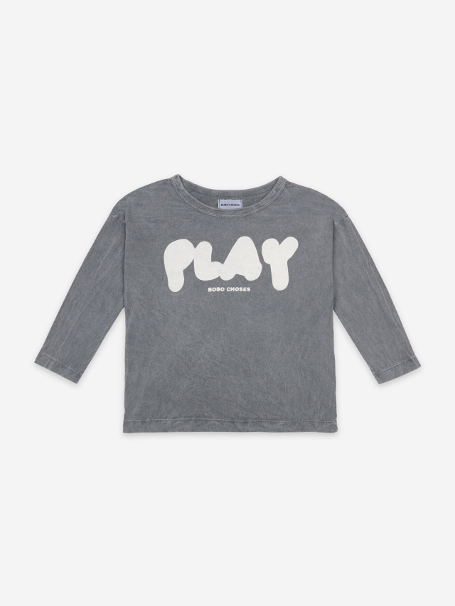 【BOBOCHOSES】121AC026 Play Long Sleeve T-Shirt