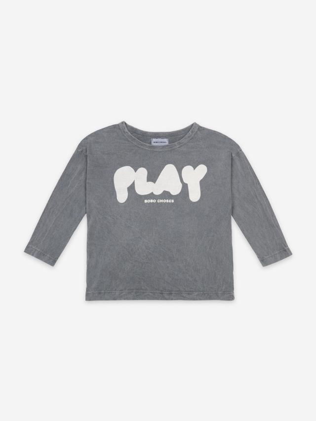 【BOBOCHOSES】121AC026 Play Long Sleeve T-Shirt