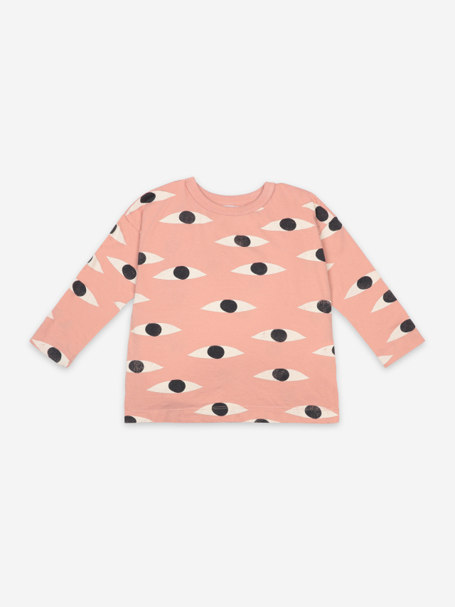 【BOBOCHOSES】121AC028 Eyes All Over Long Sleeve T-Shirt