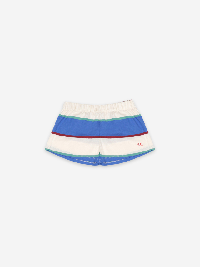 【BOBOCHOSES】121AC066 Stripes Jersey Shorts